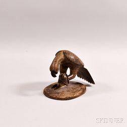 Bronze Sculpture of a Bird