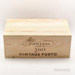 Fonseca Vintage Port 2011, 6 bottles (owc)