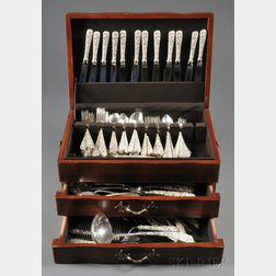 Assembled S. Kirk & Son and Stieff Sterling Flatware Service