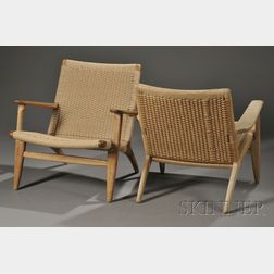 Two Hans Wegner CH25 Chairs