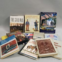 Large Collection of Books Pertaining to Military History