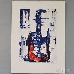 Aaron Fink (American, b. 1955)      Guitar