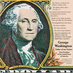 Steve Kaufman (American, 1960-2010)      George Washington