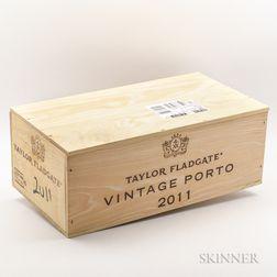 Taylor Fladgate Vintage Port 2011, 6 bottles (owc)