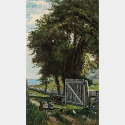 Frank Henry Shapleigh (American, 1842-1906)      Lane at Cohasset