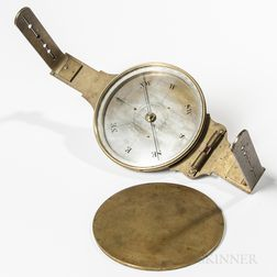 James M. Davenport Surveyor's Compass