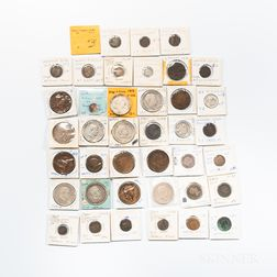 Thirty-nine Italian States Coins