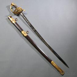Ames 1850 Staff & Field Sword