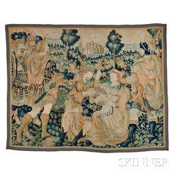 Flemish Tapestry Fragment