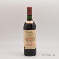 Beaulieu Vineyard Georges de Latour Private Reserve 1975, 1 bottle
