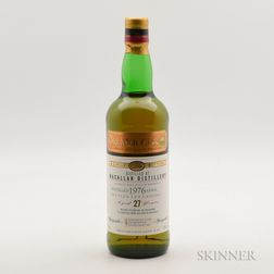 Macallan 27 Years Old 1976, 1 750ml bottle