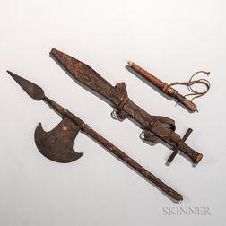 Three Sudanese Weapons