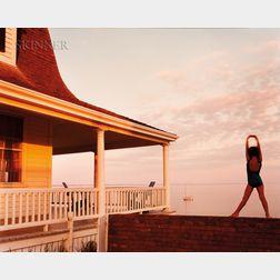 Joel Meyerowitz (American, b. 1938)      Ariel, Provincetown Porch Scene
