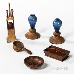 Six Miniature and Make-do Items