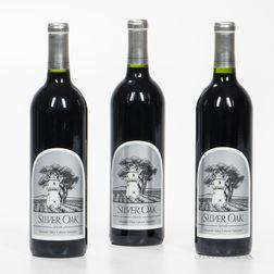 Silver Oak Cabernet Sauvignon Alexander Valley 2010, 3 bottles