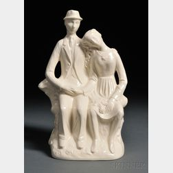 Wedgwood Queen's Ware Country Lovers   Group