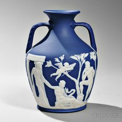 Wedgwood Dark Blue Jasper Dip Thomas Lovatt Portland Vase