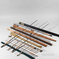 Group of Fly Fishing Rods