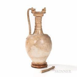 Straw-glazed Pottery Amphora