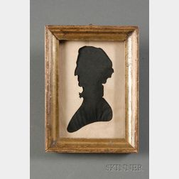 Silhouette Portrait of Charles Carroll, Signer of the Declaration of Independence