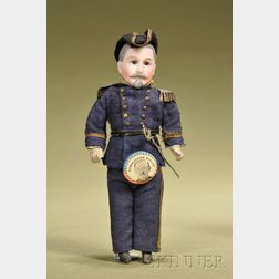 Admiral Winfield Scott Schley Portrait Doll