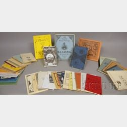 Approximately Fifty Reproduction Clock and Watch Trade Catalogues