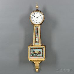 "Waterbury Willard No. 6 ""Banjo"" Clock"