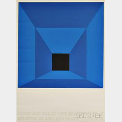After Josef Albers (German/American, 1888-1976)      Josef Albers at The Metropolitan Museum of Art Exhibition Poster