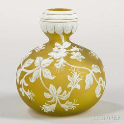 Cameo Glass Vase