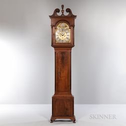 Philadelphia Walnut Tall Clock