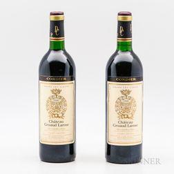 Chateau Gruaud Larose 1990, 2 bottles