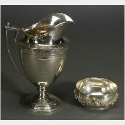 Sterling Classical Revival Water Pitcher