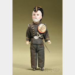 Admiral William Thomas Sampson Portrait Doll