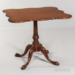 Queen Anne Tilt-top Tea Table