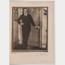Coburn, Alvin Langdon (1882-1966) Men of Mark  , First Edition, Signed by Coburn.