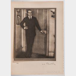Coburn, Alvin Langdon (1882-1966) Men of Mark  , First Edition, Signed by Coburn.