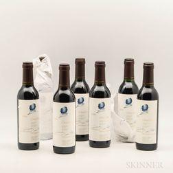 Opus One 1994, 7 demi bottles