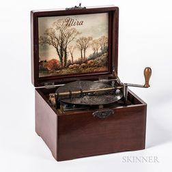 Mira 7-inch Disc Musical Box