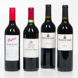 Mixed Australian Wines, 4 bottles