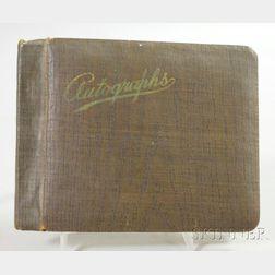 1940s Autograph Album