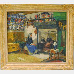 James Jeffrey Grant (American, 1883-1960)      Scotch Interior