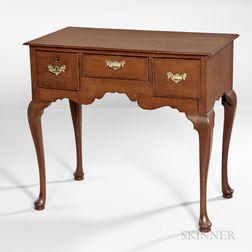 George II/III Oak Dressing Table