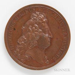 1690 Quebec Preserved Bronze Medal