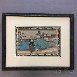 Utagawa Hiroshige (1797-1858), Chushingura   Act 4