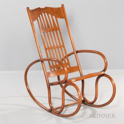 Thonet for J&J Kohn Bentwood Rocking Chair