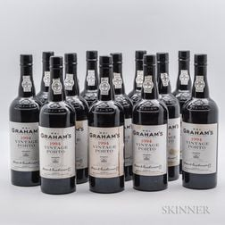 Grahams Vintage Port 1994, 12 bottles