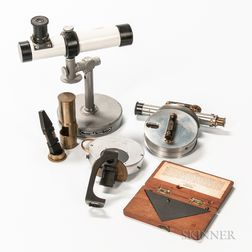 Five Surveying Instruments