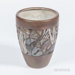 Mougin Nancy Art Deco Vase