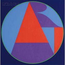 Robert Indiana (American, b. 1928)      The Neuberger Art