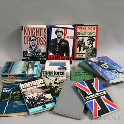 Collection of Reference Books Pertaining to WWII Military and Naval History.     Estimate $75-100